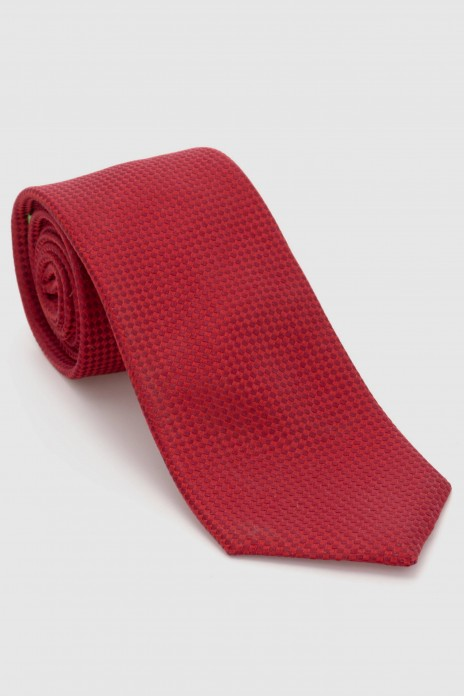 CORBATA FALSO LISO - RED