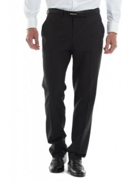 Pantalón vestir lana gris- marengo talla 40