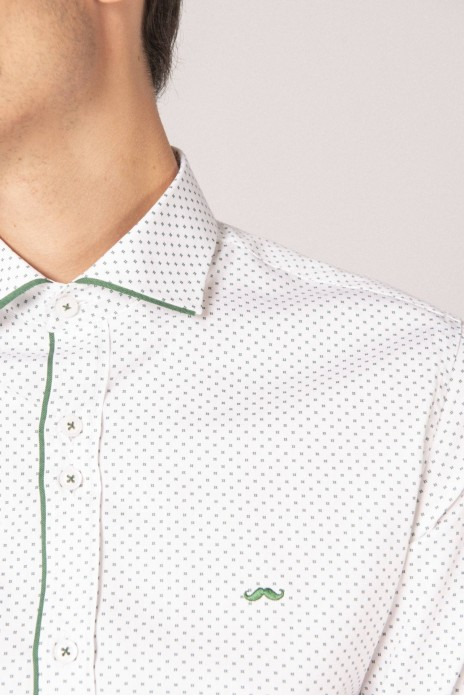 CAMISA ESTAMPADA - GREEN