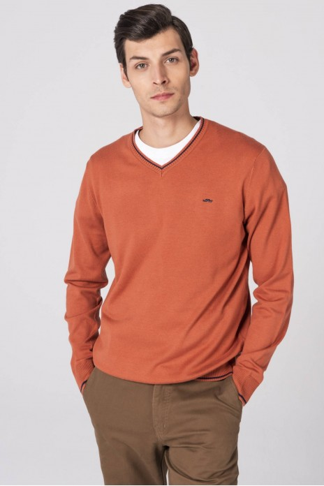 JERSEY CUELLO PICO - ORANGE