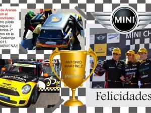 Núñez de Arenas con el automovilismo