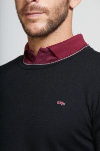 jersey hombre cuello redondo