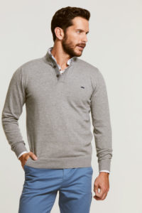 jersey-hombre-gris-botones