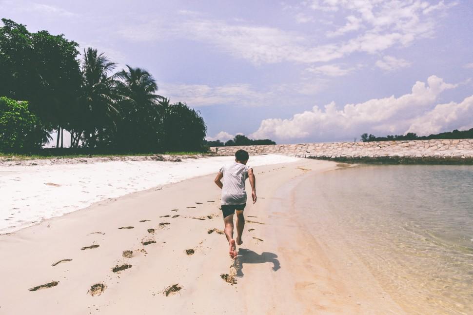 beach fitness correr playa running nuñez de arenas