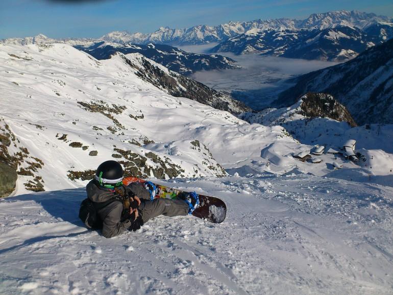 snowboard deporte invierno nuñez de arenas