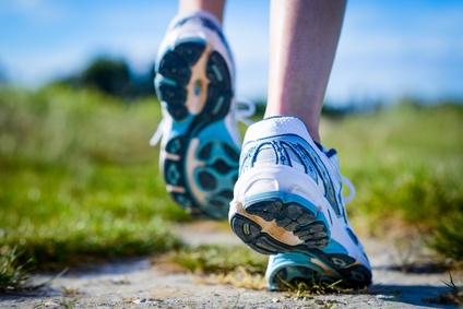 correr caminar zapatillas deporte ejercicio
