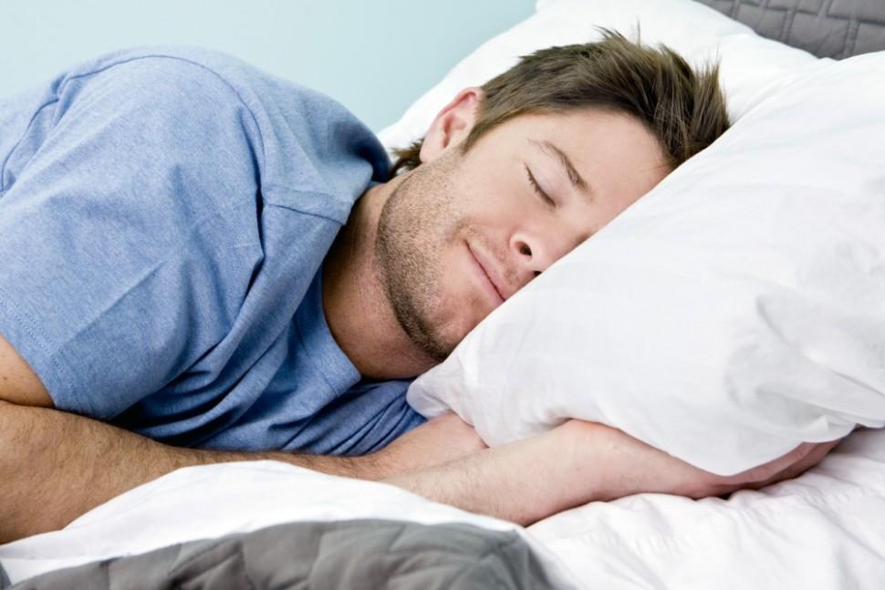 hombre durmiendo dormir