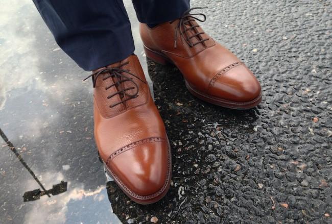 zapatos calzado lluvia otoño