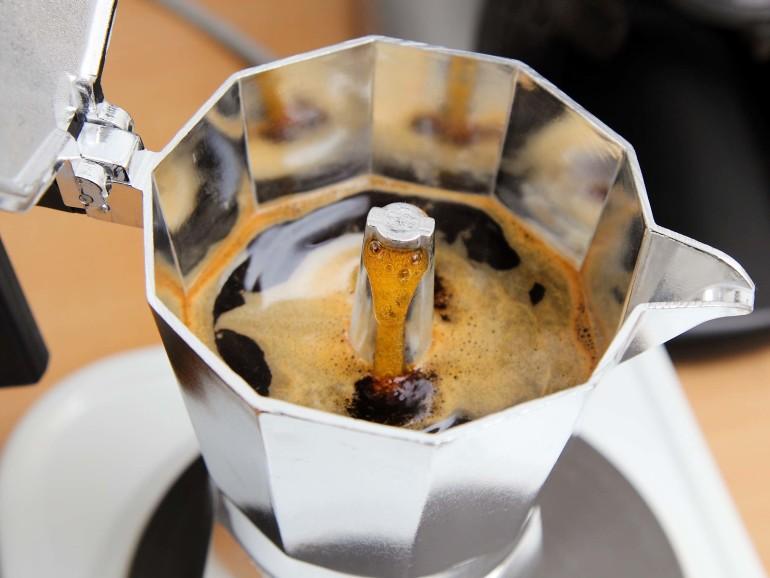 cafetera italiana cafe