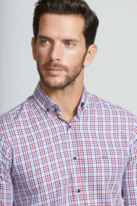 Combinar camisa cuadros hombre CLARA