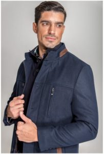 abrigo parka chaqueton combinado