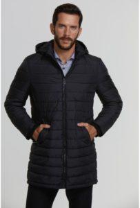 abrigo parka chaqueton hombre nylon
