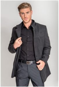 abrigo parka chaqueton hombre pano