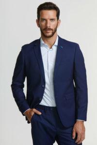 look navidad sin corbata